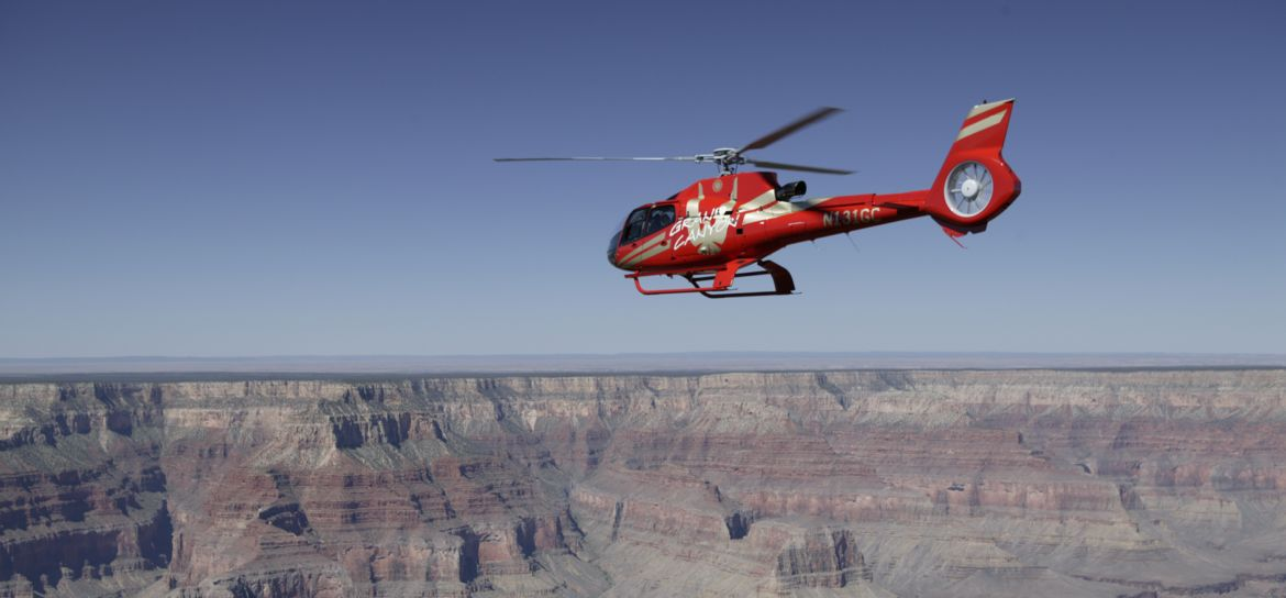 Soar into adventure on a state-of-the-art helicopter during a Las Vegas trip to the Grand Canyon with Papillon