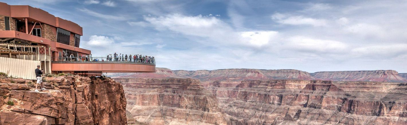 Explore the Grand Canyon West Rim Skywalk on a world-class helicopter, bus, or airplane tour with Papillon.