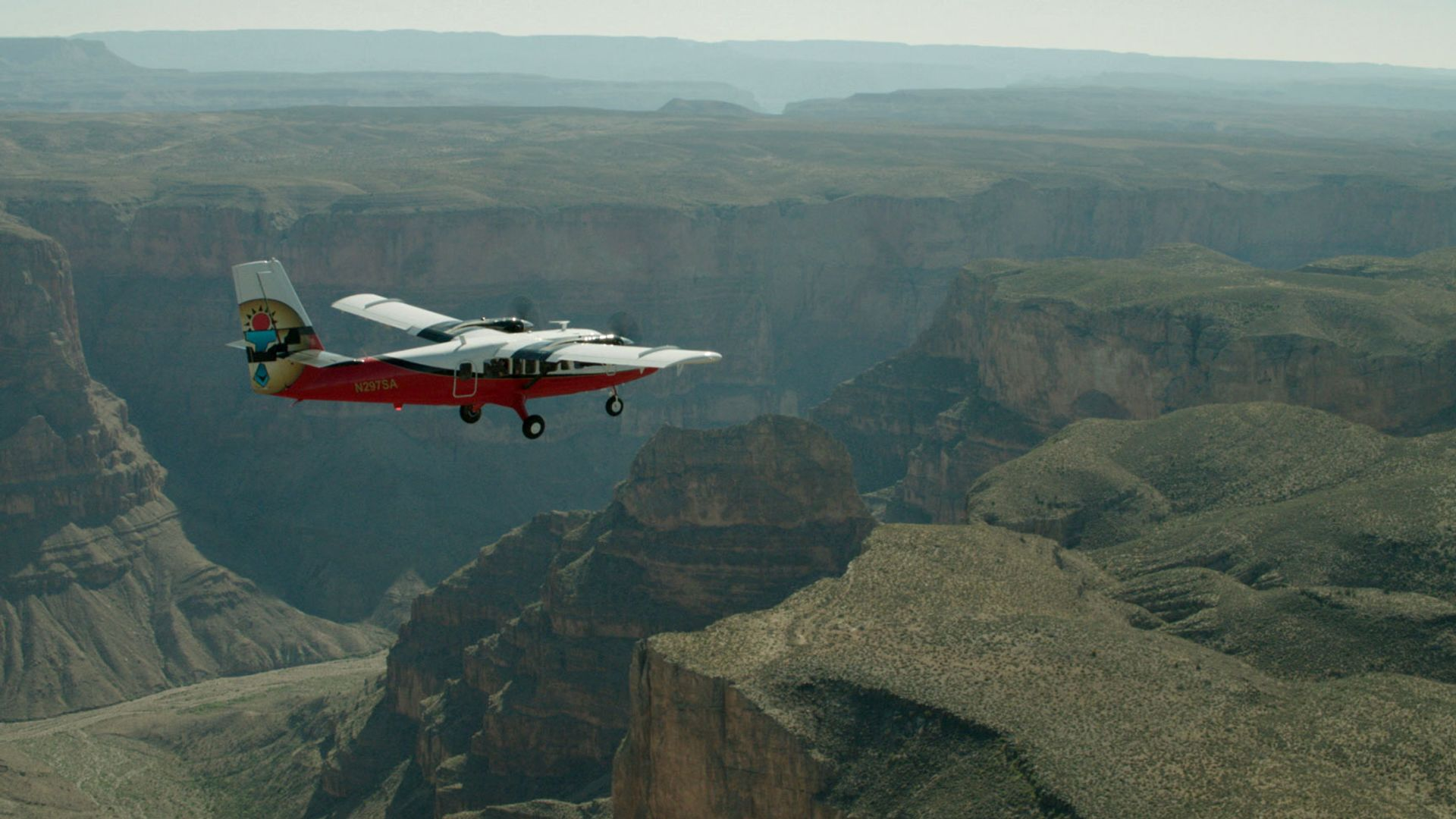 Soar over the Grand Canyon aboard a Grand Canyon airplane tour