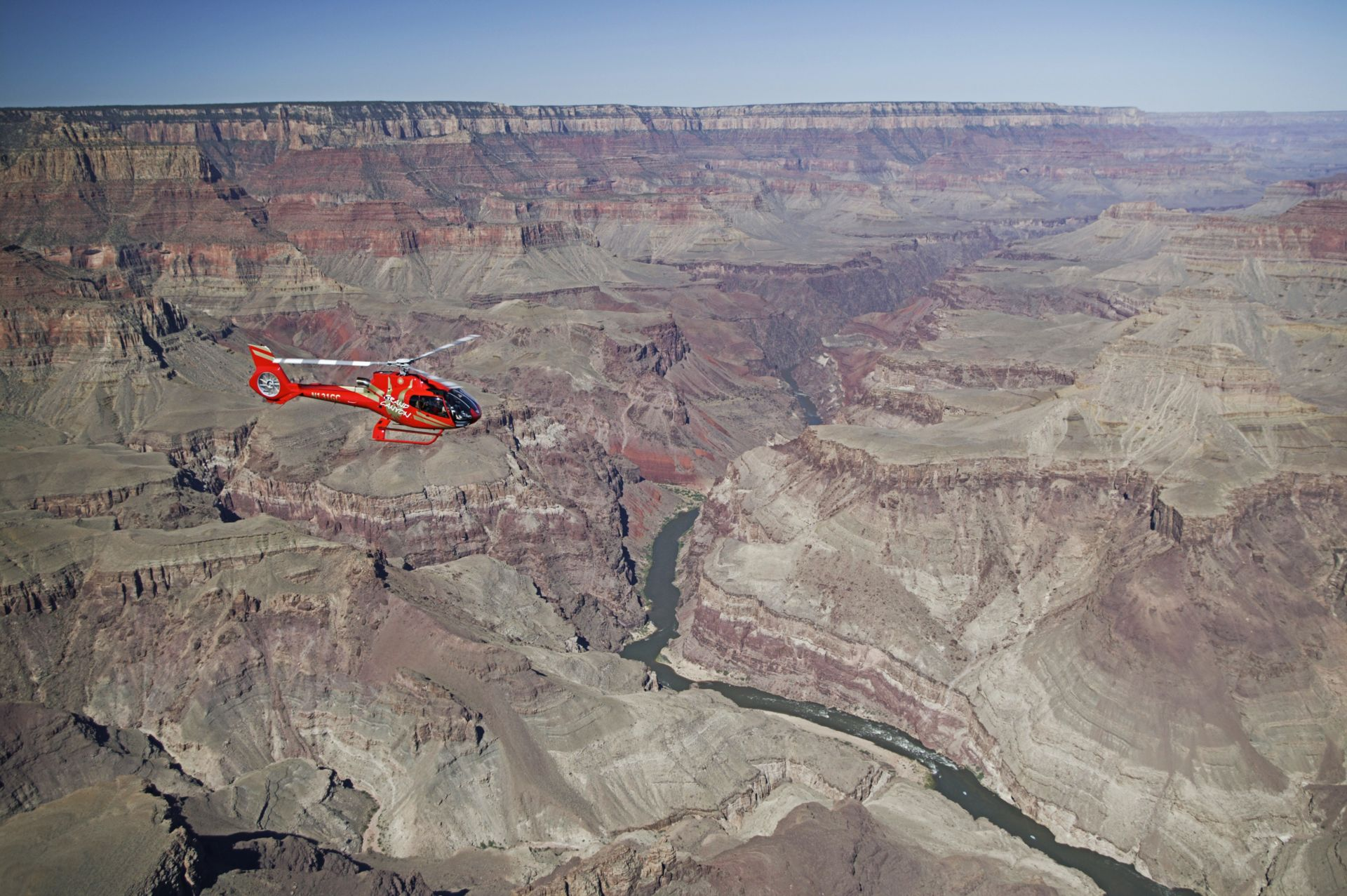 Soar into adventure on a Grand Canyon helicopter tour