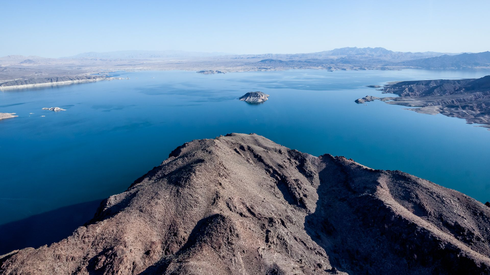 Lake Mead from the air