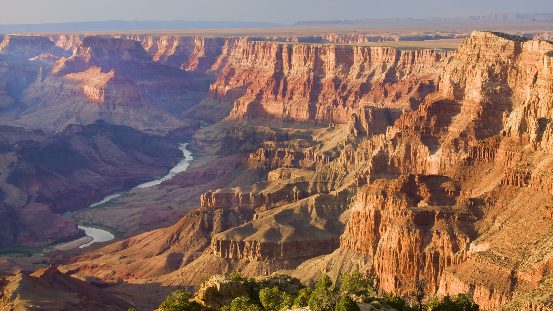 A view from the Grand Canyon National Park south rim tour