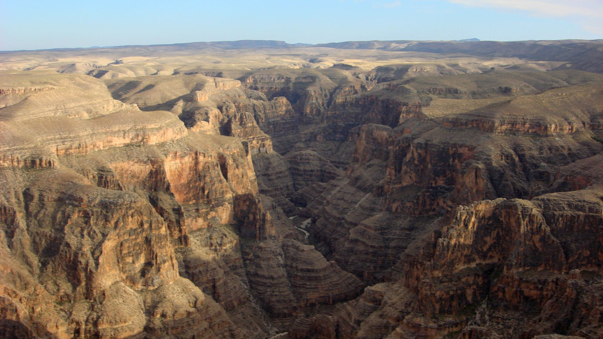 Aerial views of Grand Canyon