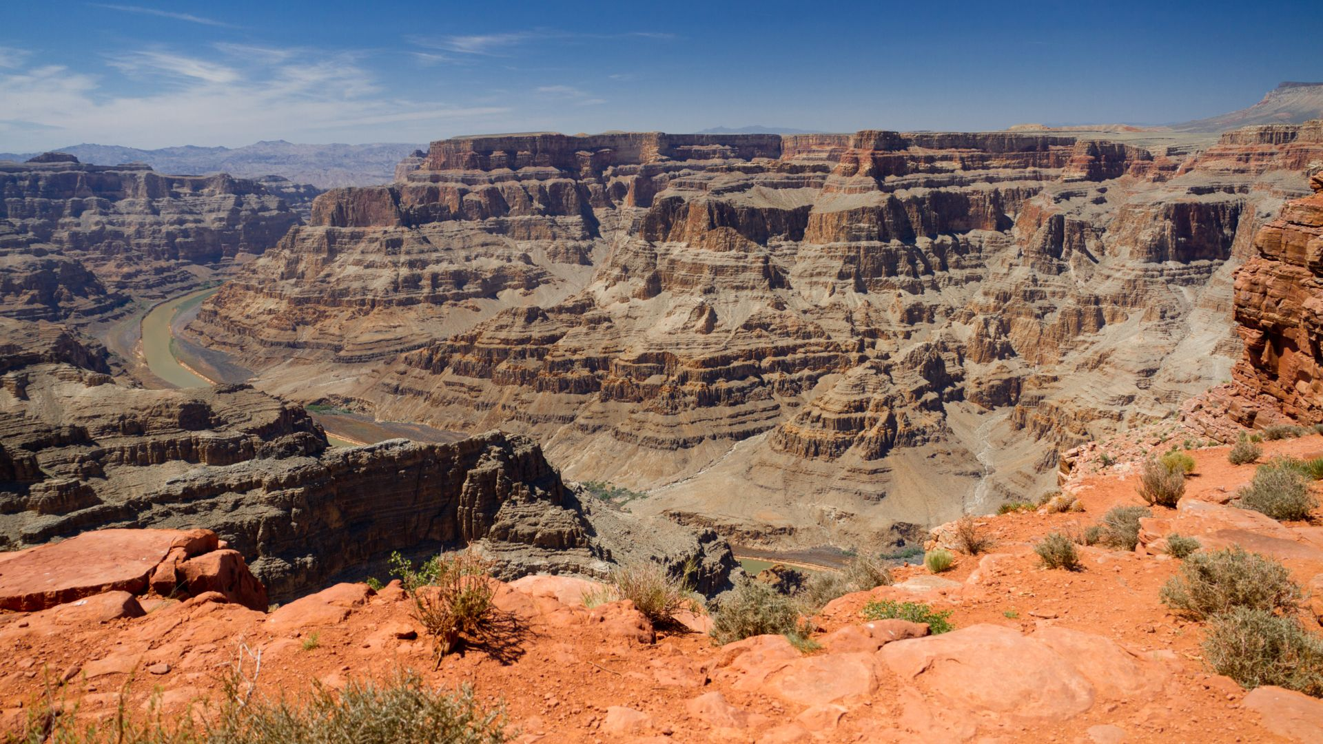 Grand Canyon West view from the Rim