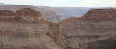 Eagle point at Grand Canyon West.