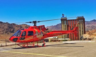RS14026_Hoover-Dam-Lodge-red-astar-heli_Edit-parked-on-heli-pad-hoover-dam-terminal
