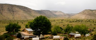 Bar10 Ranch complex located at Grand Canyon North