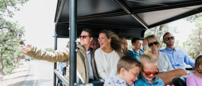 Guests riding in a Buck Wild Hummer during The Signature Tour.