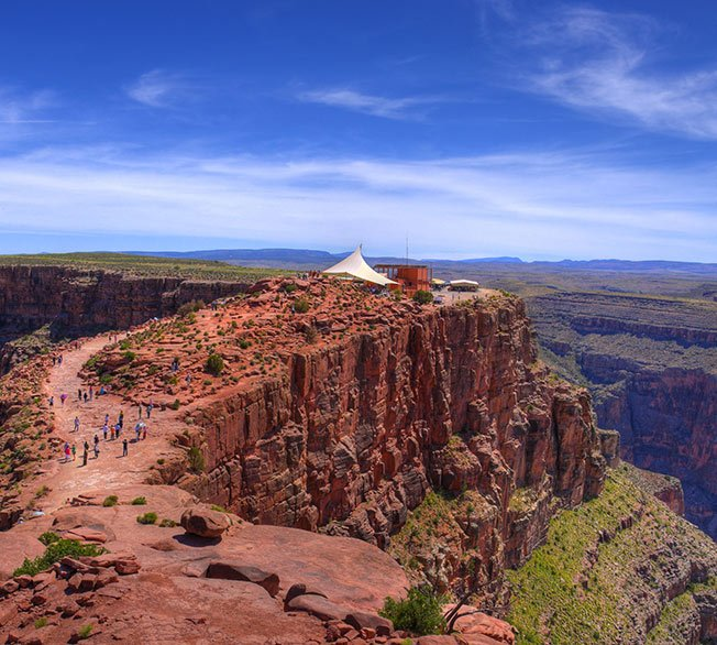 Guano Point, a fantastic feature of the Grand Canyon West Rim.