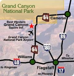 Grand Canyon Airlines Location