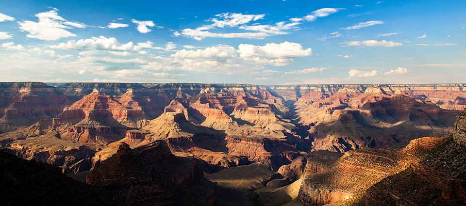 A breathtaking view at the world-recognized South Rim.