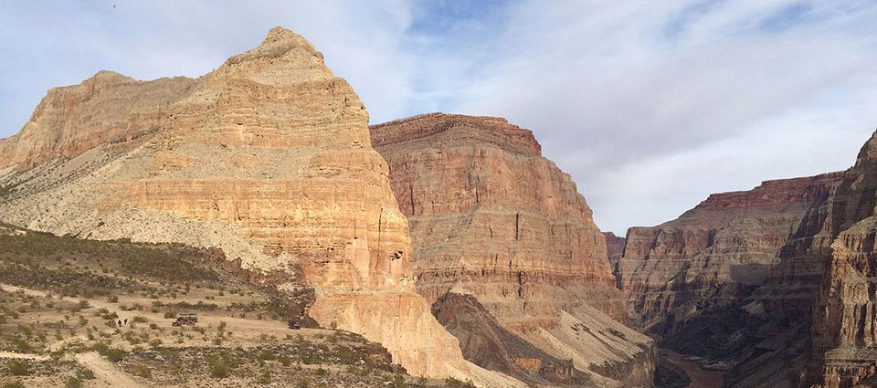 Northern sights on a Grand Canyon airplane tour.
