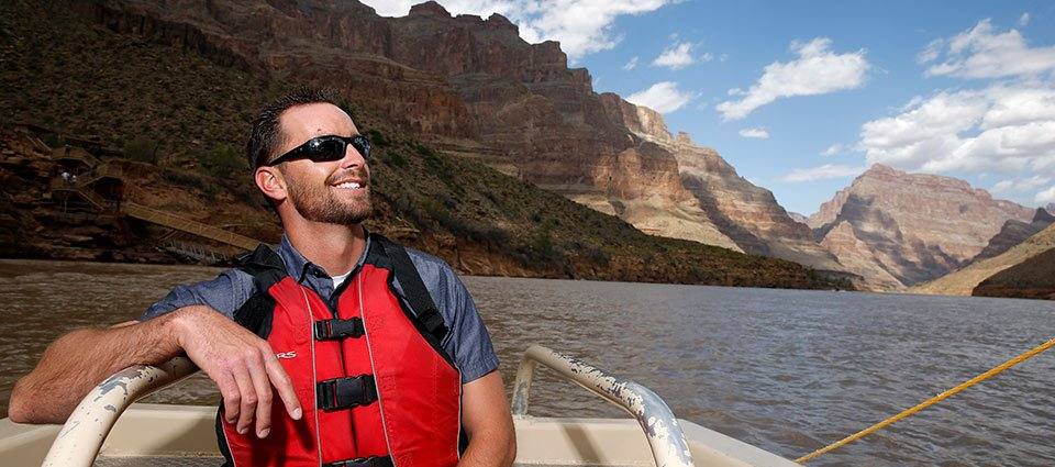 Spend a day against the scenic backdrop of the Grand Canyon West.