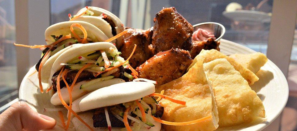 Delicious Food at the Sa'Nyu Wa restaurant