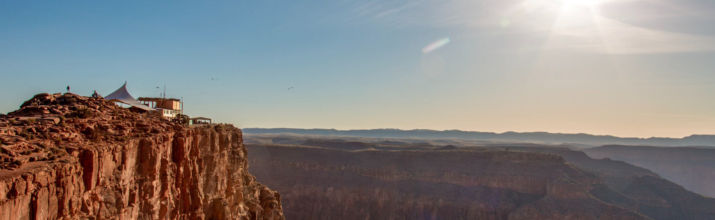 A scenic Grand Canyon landscape at the West Rim.