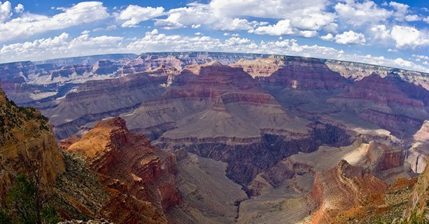 Una veduta del maestoso Grand Canyon