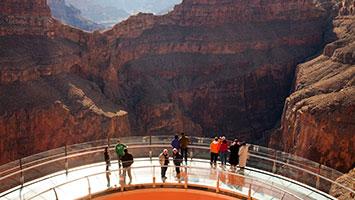 Las Vegas To Grand Canyon West Rim Skywalk Tours Papillon