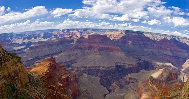 View of the South Rim of the Grand Canyon