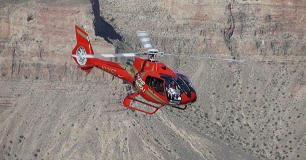 A Grand Canyon helicopter tour through the South Rim.
