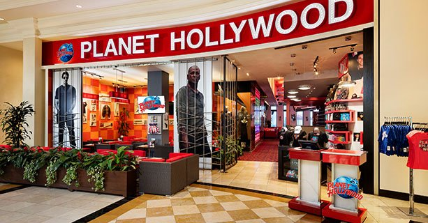 Entrada al Planet Hollywood