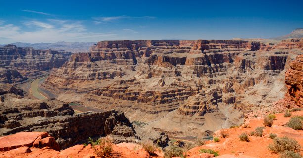 Image of the West Rim of the Grand Canyon